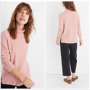 Madewell Inland Turtleneck Coziest Yarn Sweater